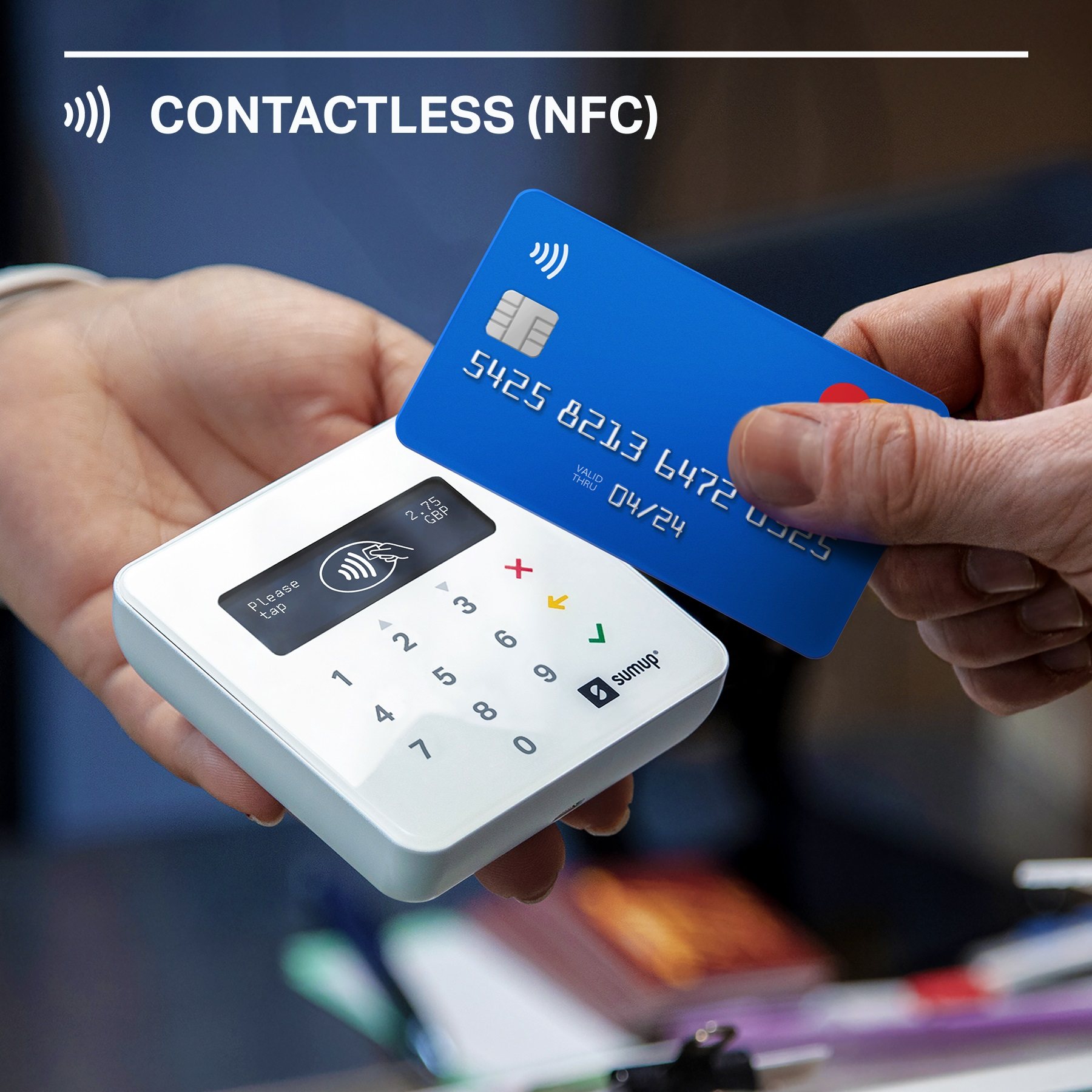 SumUp - Le lecteur de carte bancaire